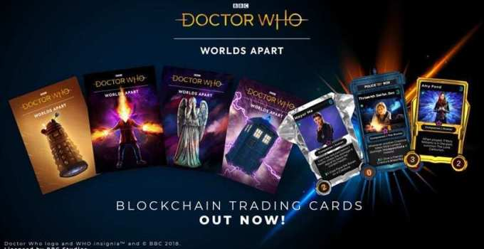 Dr Who NFT Cards