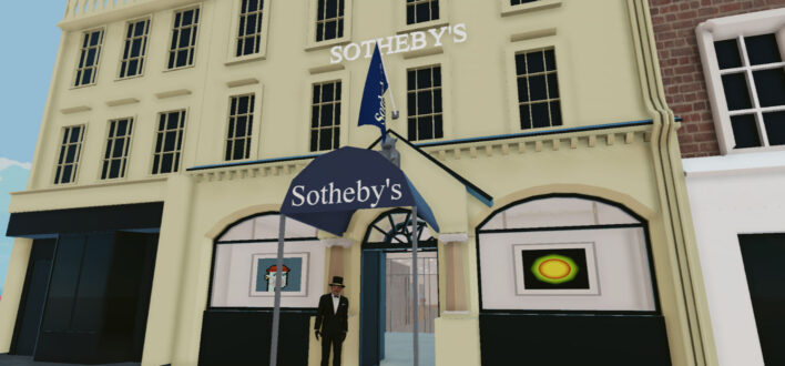 Sotheby's opens a virtual gallery in Decentraland - NFT News Today
