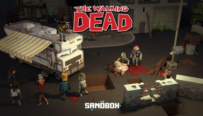 The Walking Dead are invading The Sandbox