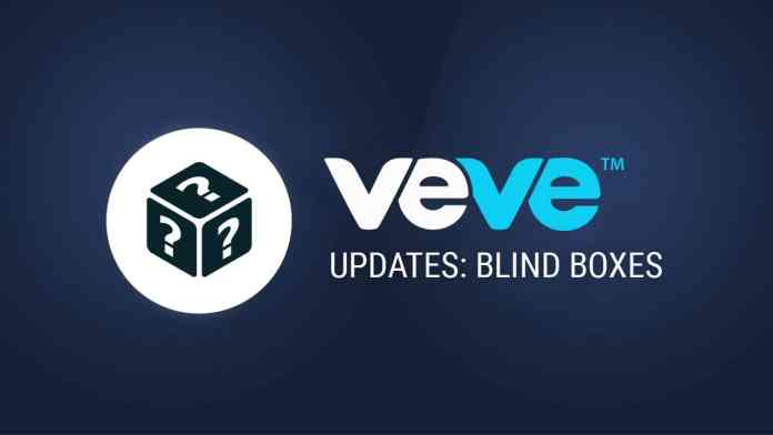 VeVe Update: Blind Boxes