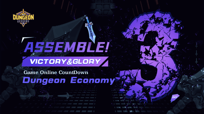 """GameNFT's first game """"Dungeon Economy"""" will be launched on 13th September!"""