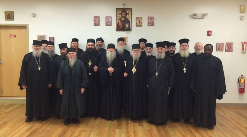 HOCNA Clergy Synaxis 2014