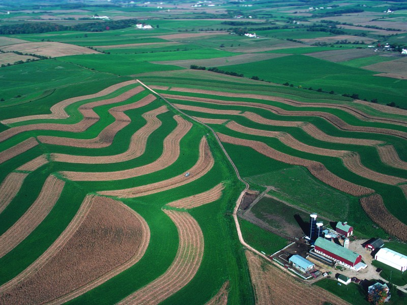 What Can Farmers Do About Climate Change? Stripcropping