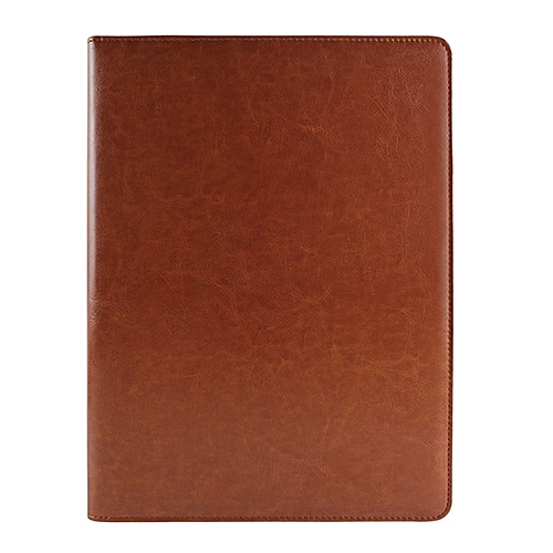 Sunsky Office Supplies Business Style Leather Document Folder With 30-pages A4 Note Pad And Calculator(Brown)
