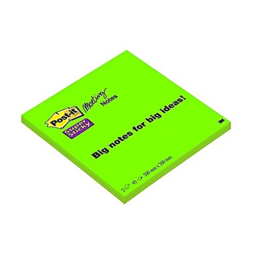 Post-it 948996 - Notepad Adhesive 2 Units X 45 Pages, Colors Neon