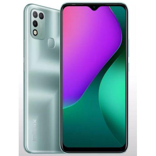 """Hot 10 Play (X688B) 6.82"""" HD+, 4GB RAM + 64GB ROM, 6000mAh Battery, Android 10, 13MP Dual Camera, 4G, Fingerprint -Green"""