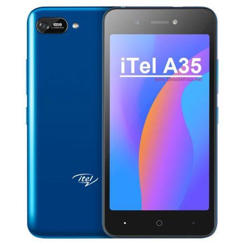 A35, Android 10, 5.0 HD, 5.0MP Rear+2.0mp Front Camera, 16GB ROM+1GB RAM, 3020mAh, Blue
