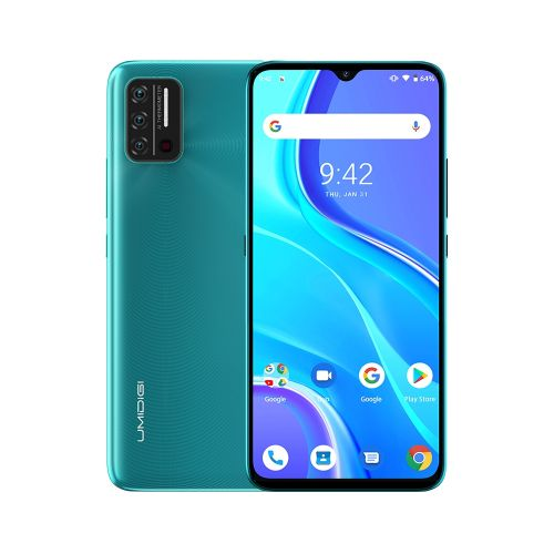 A7S, 2GB+32GB, 6.53 Inch Android 10 , 4G, OTG - Green