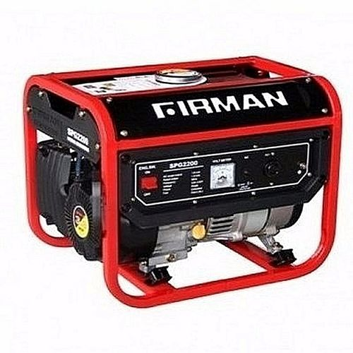 (Reduced Shipping Fee) Firman Generator SPG 2200 1.8KVA - Red