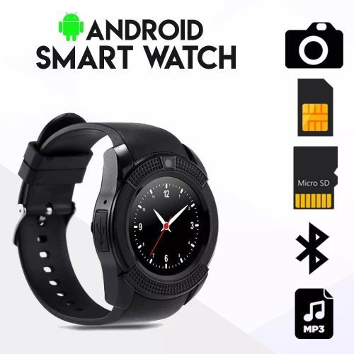 V8 Android Smartwatch With Sim Card Slot