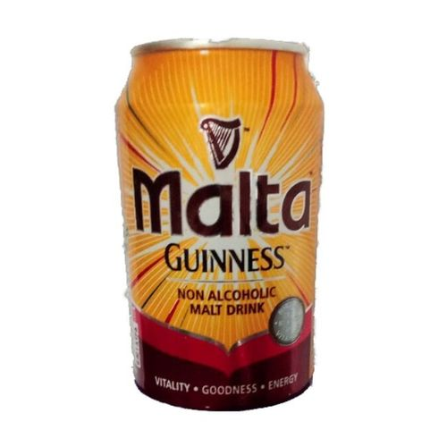 Malta Guinness Non Alcoholic Malt Drink Can X12