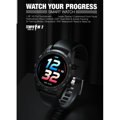 2020 Edition Tempo OSW-20 Water Resistant Smart Watch
