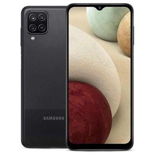 "Samsung Galaxy A12 - 6.5"" 48MP Camera, 4/128GB Memory, 5000maH Battery, Fingerprint, 4G LTE - BLACK"