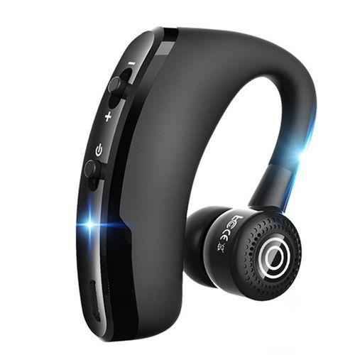 Earhook Wireless Bluetooth Earphone CSR Noise Cancelling Earpiece Headset Portable
