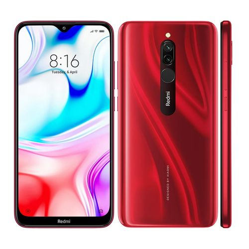 Redmi 8 4GB RAM 64GB ROM Mobile Phone 6.22 Inch Snapdragon 439 Octa Core 12MP Dual Camera 5000mAh Battery Cellphone