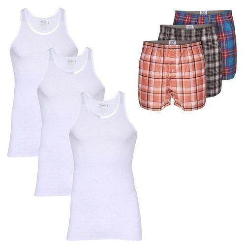 SIX-in-1 Men's Underwear (Singlets & Boxers)