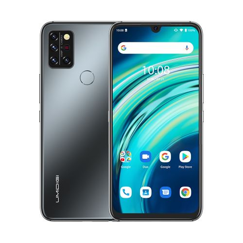 A9 Pro, 6GB+128GB, 6.3 Inch Android 10 Mediatek Helio P60 Octa Core Up To 1.8GHz, Network: 4G, OTG(Black)