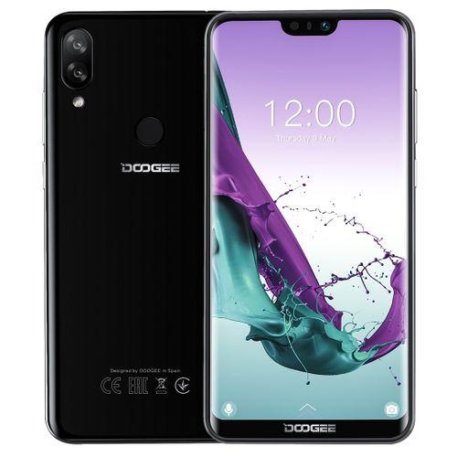 N10 3GB+32GB 5.84 Inch Notch Screen Android 8.1 Smartphone - Obsidian Black