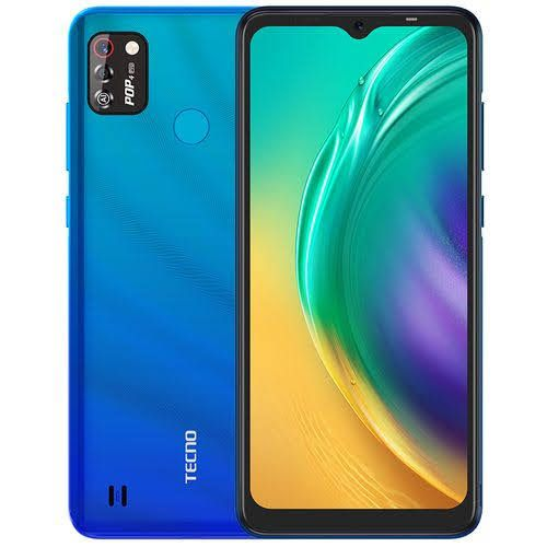 """Pop4 Pro(BC3), Android 10, 4G , 6.52""""Dot-Notch Screen, 8MP Front With Flash 8MP Dual Rear Camera, 5000mAh Vacation Blue"""