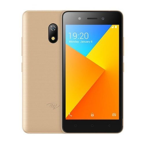 """A16plus - 5.0""""Screen 8GB ROM-1GB RAM, Android 8.1(GO Edition) 2050mAh Battery - Champagne Gold"""