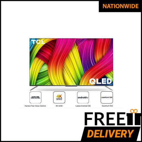 50-Inch QLED 4K Android Smart AI TV