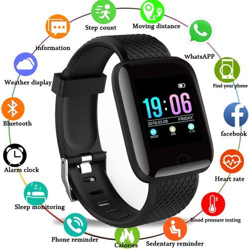 D13 Sports Fitness Tracking IP67 Waterproof Smartwatch