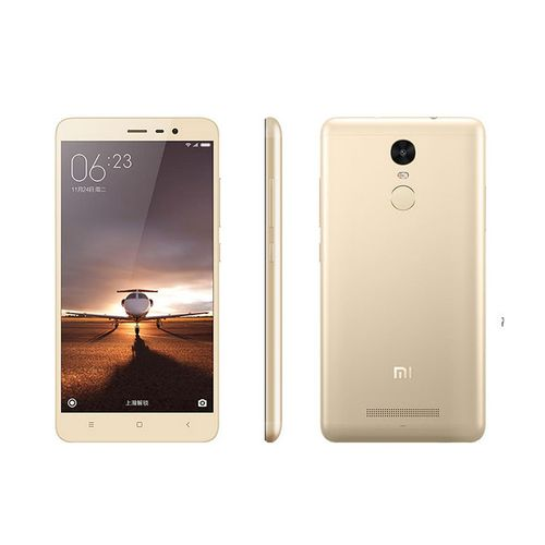 Redmi Note 3 Used 3GB RAM+32GB ROM 4G LTE 90% New Used Smartphone 5.5 Inch Screen Face Detection-Gold