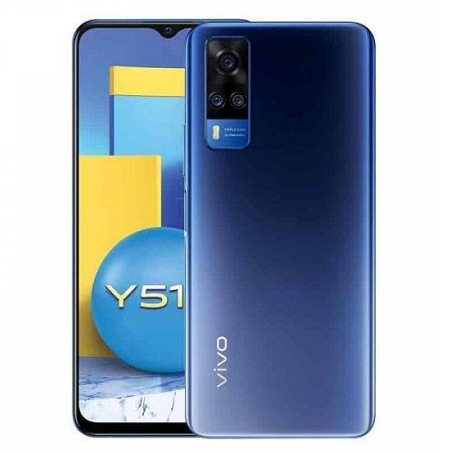 Y51, 6.58-Inch, 8GB RAM 128GB ROM Android 11 (48MP + 8MP + 2MP) + 16MP - 5000mAh - Dual SIM - Titanium Sapphire
