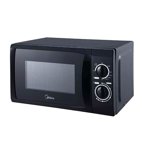 MICROWAVE OVEN WITH GRILL BLACK