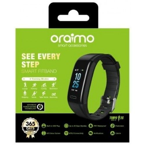 Tempo 2C Smart FitBand --WATER RESISTANT
