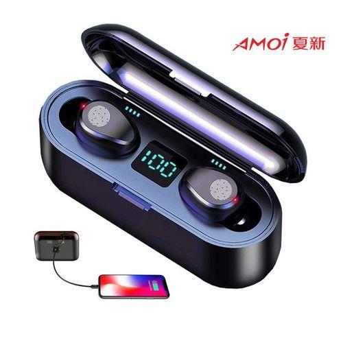 F9 Bluetooth Headphone + 2000mAh Battery+Authentic Code