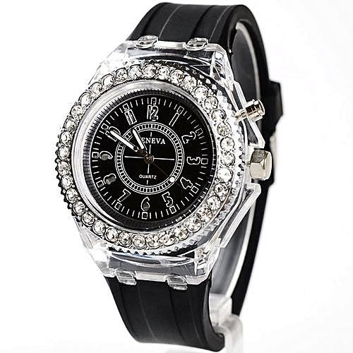 LED Luminous WristWatch - Black
