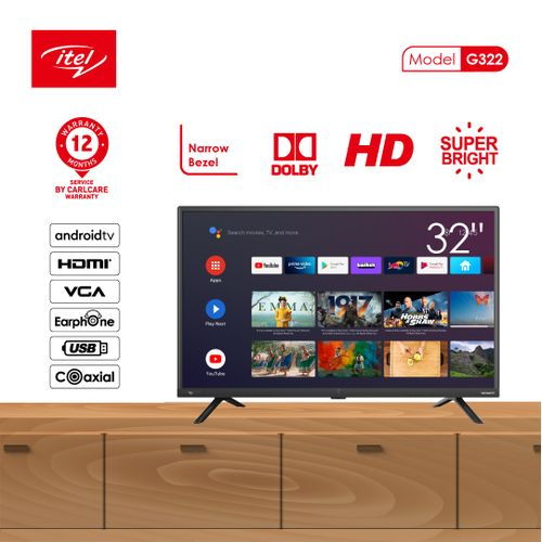 """32"""" Inch Inches G32 HD Smart Android TV"""