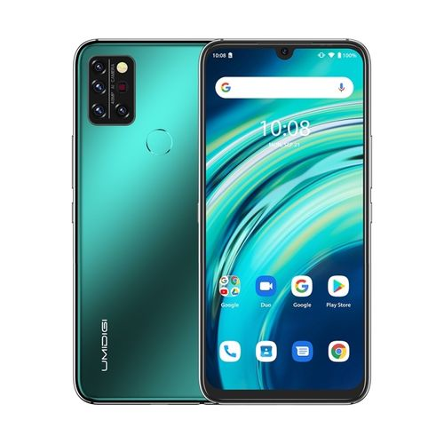 A9 Pro, 4GB+64GB, 6.3 Inch Android 10, 4G Smartphone - Green