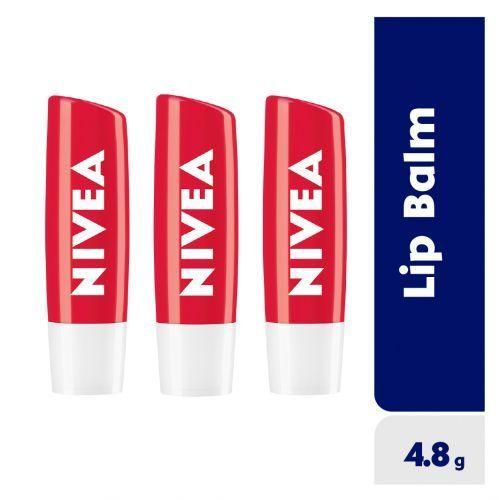 Strawberry Shine Lip Balm For Women - 4.8g (Pack Of 3)