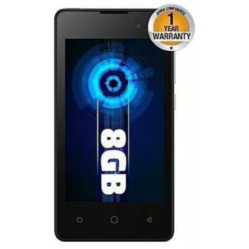 """A14 Android 8.1 - 4"""" Screen - 8gb Rom + 512mb Ram - 1.3ghz Processor - 1500mah Battery - Black"""