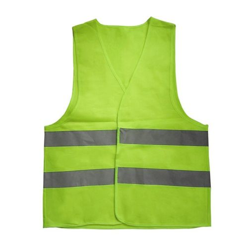 Safety Reflective Vest Sanitation Overalls Protective Yellow