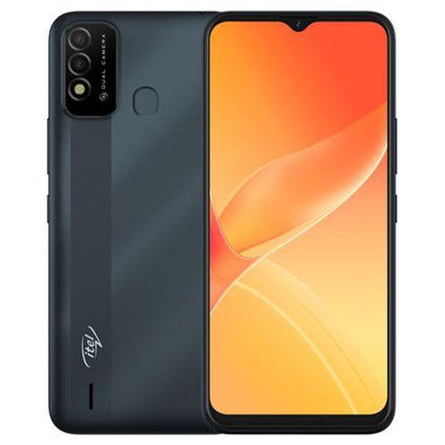 """P37 6.5"""" HD+ Screen, 2GB RAM + 32GB ROM, 5000mAh Battery, Android 10, 8MP Dual Rear Camera, Fingerprint & Face ID - Blue"""