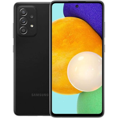 Galaxy A52 Dual SIM, 6.5 Inches (128GB + 6GB RAM) (64MP + 12MP + 5MP + 5MP) + 32MP Front, 4500mAh 4G LTE Black