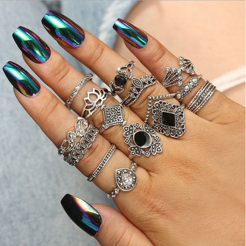 Knuckle Ring Set For Ladies