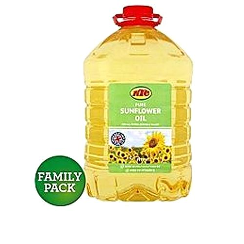 Sunflower Cooking Oil 5L - CARTON OF 4