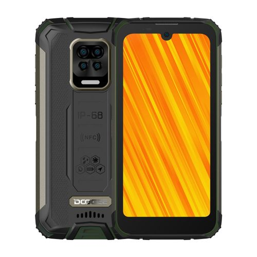 S59 Pro Rugged Phone 4GB+128GB 10050mAh Battery Side 5.71 Inch Android 10 4G NFC OTG Smartphone - Green