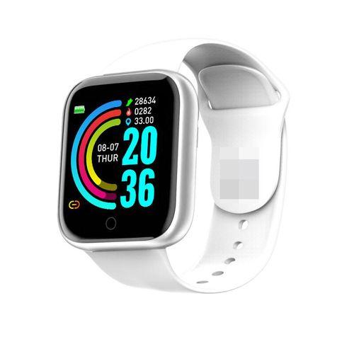 Color Screen Smart Watch IP67 Waterproof(White)