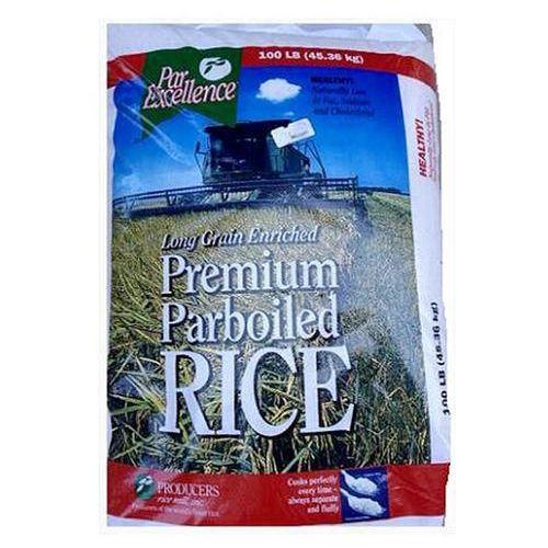 Premium Parboiled Rice - 45.36kg