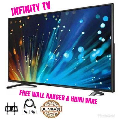 32-Inch HD Digital Flat TV + Free Wall Hanger & HDMI Wire