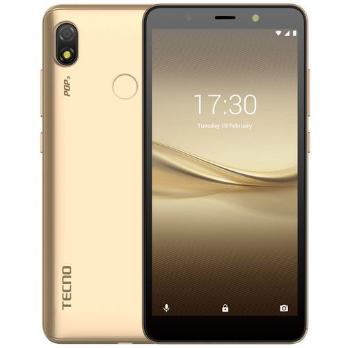 POP3 (BB2) 5.7-Inch, (16GB ROM 1GB RAM) Android 8.1 Oreo 8MP + 5MP Camera 3500mAh Fingerprint & Face ID - Champagne Gold