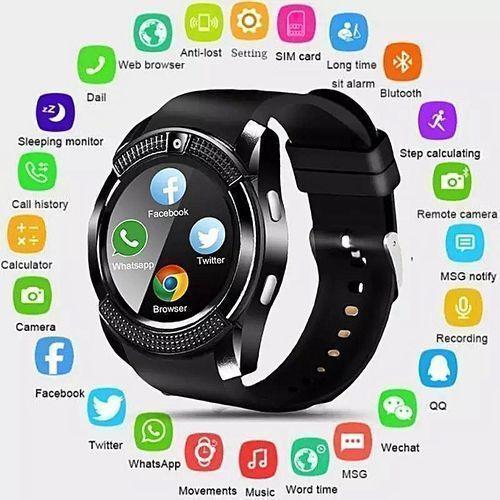 Waterproof Smart Watch With Camera & Sim Slot