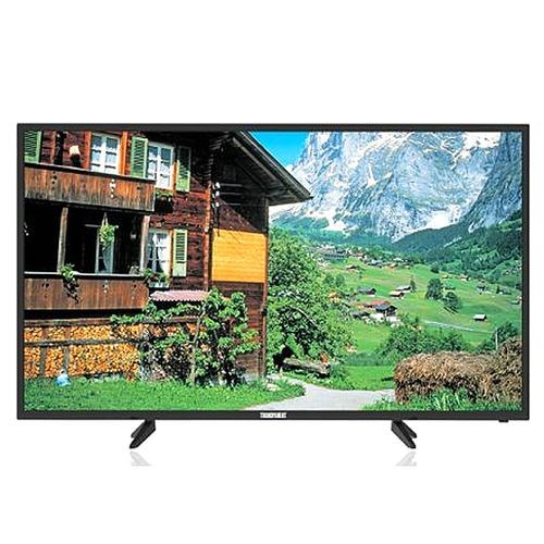 """Big Screen High Quality Home Electronics Television Transparent ''55"""" Inches 4K TV Ultra-HD Smart LED TV (with 27 Months Official Warranty) - Black"""