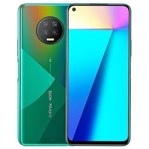 Note 7 X690B - Dual - 128GB ROM - 6GB RAM - 4G Lte - 6.95'' - 48mp+16MP - 5000mAh - Fingerprint, Forest Green.