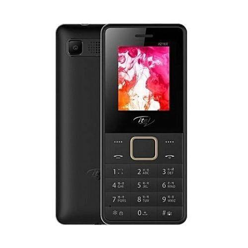 It2160 Wireless FM, Bright Torchlight, Call Recorder, Dual SIM Mobile - Black